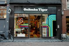 Onitsuka Tiger store design and brand activation campaign by Storeage Amsterdam 10