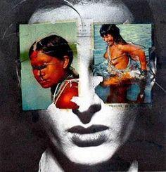 "Anna Bella Geiger, ""História do Brasil – Série Little Boys & Girls"", 1975 ( Henrique Faria Fine Art, Nova York)"
