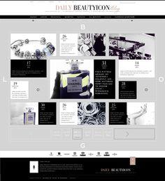 BT Blog Subpage by Michal Wierzbicki, via Behance