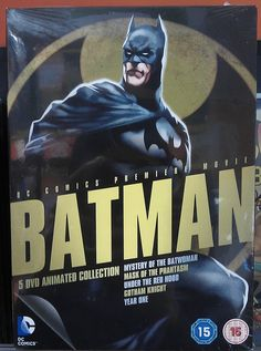 Batman DVD Animated Movies Collection