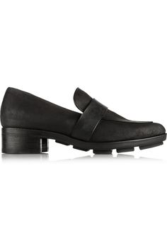 Rag & boneCrommer waxed suede loafers