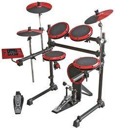 Electric Drum Set - have a couple of these at schools. Great for saving space. Great for keeping noise levels down. Great to connect to smart board and use with tutoring programs.