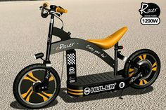HULER® - Luxury Electric Scooter, Electric Kick-scooter, Electric Bike, Electric Cruiser