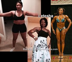 Weight Loss Transformation of the Day: Letesha lost 48 pounds. She transformed her lifestyle and her body by tracking macronutrients instead of calories and working out regularly. After a year of Best Weight Loss, Healthy Weight Loss, Weight Loss Tips, Wake Forest University, Diet Plans To Lose Weight, How To Lose Weight Fast, Losing Weight, Cardio, Bodybuilding Competition