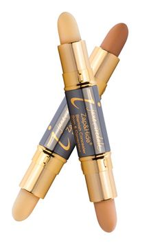 If you're battling breakouts, try Jane Iredale's Zap & Hide Blemish Concealer. The dual-end pen contains chamomile, lavender, and green-tea-leaf oil to reduce inflammation and bacteria and hide imperfections—stat.    Jane Iredale Zap & Hide Blemish Concealer, $26 each, janeiredale.com.