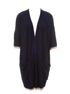 Schnittmuster: Longjacke - Oversize-Strickjacke - Pullover & Cardigans - Damen - burda style