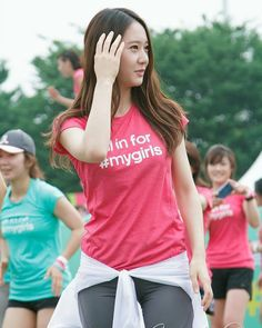 "130615 Krystal - Adidas ""My Girls"" Training Party #krystal #정수정 #크리스탈 #soojung #jungsoojung #fx"