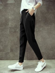 Women harem pants Loose Ankle-Length Wide-legged Summer Pants -  11.00  Cheap Pants abb71da69