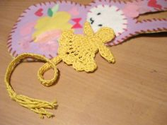 Free Crochet Little Angel Bookmark Pattern