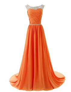 Dressystar Elegant Chiffon Beads Long Prom Dresses 2014 Pleated Party Gowns Size 16 Orange Dressystar http://www.amazon.com/dp/B00KVS06LO/ref=cm_sw_r_pi_dp_wJMvvb1NYZ67G