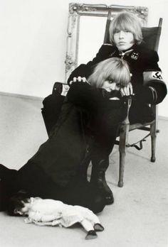 Anita Pallenberg and Brian Jones