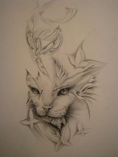 One cat tattoo that i'd love to have on my back