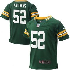 Nike Clay Matthews Green Bay Packers Infant Game Jersey - Green-