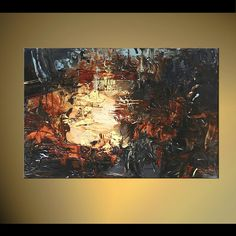 contemporary abstract painting home decor