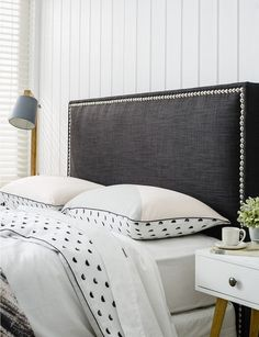 19 best studded headboard images bed headboards diy ideas for rh pinterest com