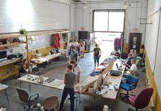 espacio Coworking / Coworking Brooklyn trabajo comun comunidad