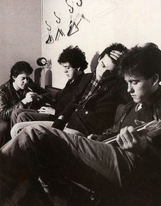 The Cure in 1980