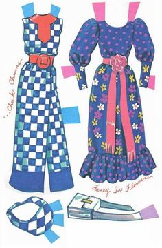 Paper Dolls~Barbie's Boutique - Bonnie Jones - Picasa Web Albums