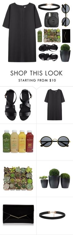 """#388"" by lost-in-a-daydr3am ❤ liked on Polyvore featuring H&M, Non, Retrò, Shop Succulents, Furla and Fujifilm"