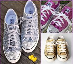 18 DIY: New Shoes (get all star shoes at target for cheap and decorate them
