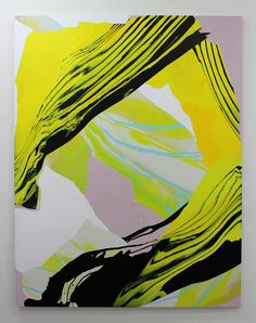 Noël Skrzypczak. Mountain Painting #6 188 x 146cm Synthetic polymer paint on canvas