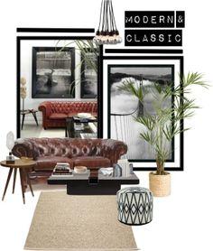 """modern & classic"" by zunigainteriorsdesignstudio on Polyvore"