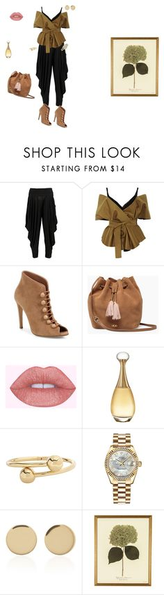 """Bez naslova #796"" by drazenkakucarov ❤ liked on Polyvore featuring Boohoo, Acler, Gianvito Rossi, UGG, Christian Dior, J.W. Anderson, Rolex and Magdalena Frackowiak"