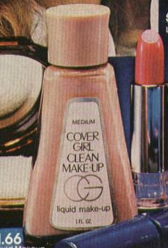 Cover Girl Foundation early 80s