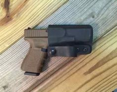 CKC - IWB - Inside The Waistband Holster - Simplicity and function defined. Concealed carry comfort. Carry in any position on the waist.  http://clevelandkydex.com/quick-ship-holster-c-27_1/quick-ship-custom-holster-iwb-designer-p-75.html