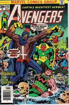 Avengers 152 October 1976 Issue  Marvel Comics  by ViewObscura
