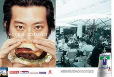 Resultado de imagem para anúncio lançamento shopping Shopping Center, Hamburger, Ethnic Recipes, Food, Shopping Mall, Essen, Burgers, Meals, Yemek