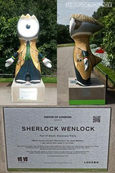 Did you know Olympic Mascot Sherlock Wenlock contains 13 references to the original Sir Arthur Conan Doyle stories?