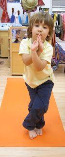 Bernardette: Children's Yoga (crossing midlines pose)