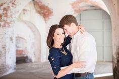 Savannah Wedding Photographer Tybee Island Engagement - Fort Pulaski