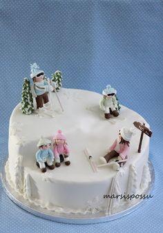 Hiihtokakku Cake, Desserts, Food, Tailgate Desserts, Deserts, Kuchen, Essen, Postres, Meals