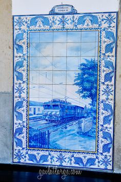 azulejos @ Ovar Railway Station, Portugal (11)