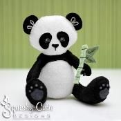 Felt Panda Stuffed Animal - via @Craftsy