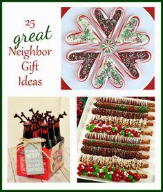 25 Neighbor Gift Ideas by Everyday Art #neighbor #gifts