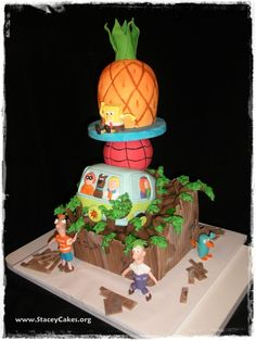All Mixed Up Kids Cake