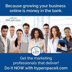 Growing Your Business with Online Marketing is Money in the Bank Online marketing means money in the bank! The best business strategy is high visibility to your customers. This means you are creating success with excellent website design, mobile friendly website design, search engine optimization, mobile apps, social media marketing, and a strategic online marketing plan. This brings the customers in by the numbers and drives your sales through the roof.