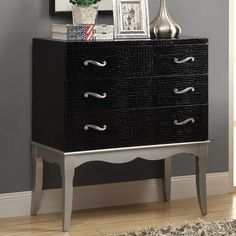 FREE SHIPPING! Shop Wayfair for Monarch Specialties Inc. Bombay 3 Drawer Chest with Tapered Legs - Great Deals on all Furniture products with the best selection to choose from!