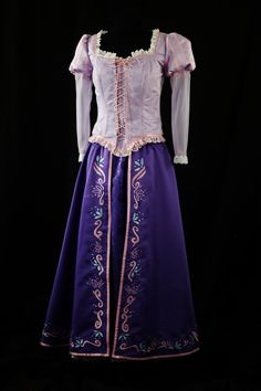 Adult Rapunzel Custom Costume Deluxe. $700.00, via Etsy.