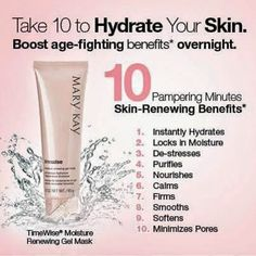 Healthy, radiant skin begins with nutrition. Remember the adage you are what you eat? Well it really is true! Proper diet is as important as having a daily skincare regimen. As a Mary Kay consultant and clean foodie addict I can help you customize a skincare regimen and foods to give you younger looking, healthier skin! Email me shirletta@iheartmarykay.com text me 757-932-5612 or call 800-794-4906 www.marykay.com/sarmstrong0707
