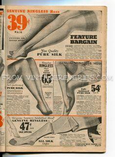 #1930s #stockings #vintage