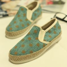 New ladies tailor-fashion-style canvas shoes shoes casual summer comfort cloth rope woven women shoes