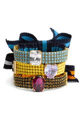bows, stones, bling, color -- win win win