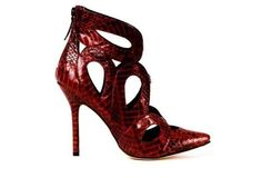 50 zapatos must have O/I 2013-2014: fotos modelos - Botín animal print rojo de Isa Tapia