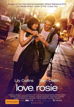 Lily Collins & Sam Claflin in Love, Rosie (such a sweet film) See Movie, Movie List, Movie Tv, Film Books, Book Tv, Beau Film, Kino Film, Chick Flicks, About Time Movie