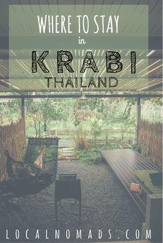 Where to stay in Krabi Thailand. Ao Nang