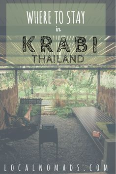 Where to stay in Krabi Thailand. Ao Nang